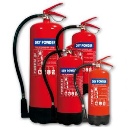 Dry Powder ABC Fire Extinguishers Home Office Car 1KG Capacity